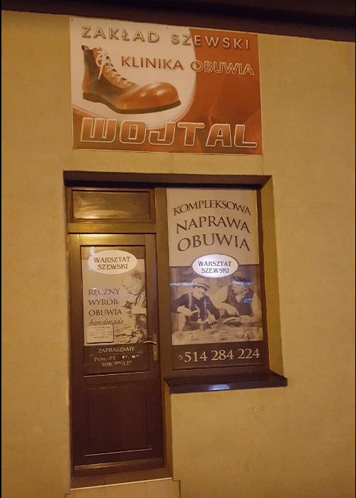 Zakład Szewski Klinika Obuwia Wojtal